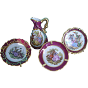 French Limoges Miniature China
