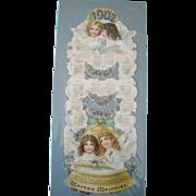 1902 Angel Calendar