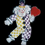 8.5 Inch Clown Valentine