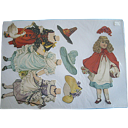 Antique Tuck 1894 Artistic Series VIII Paper Doll