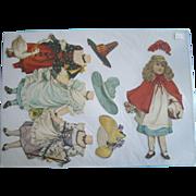 Antique Tuck 1894 Artistic Series VIII Paper Doll