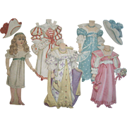 Antique Tuck 1894 Artistic Series VIc. Paper Doll