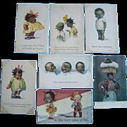 7 Postcards 1920