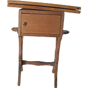 Doll Size Sewing Cabinet/Table