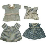 Four Small Cotton  Dresses