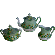 Miniature  Crown Staffordshire  Tea Set for Fashions