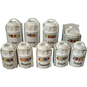 Fabulous Miniature German Canister Set