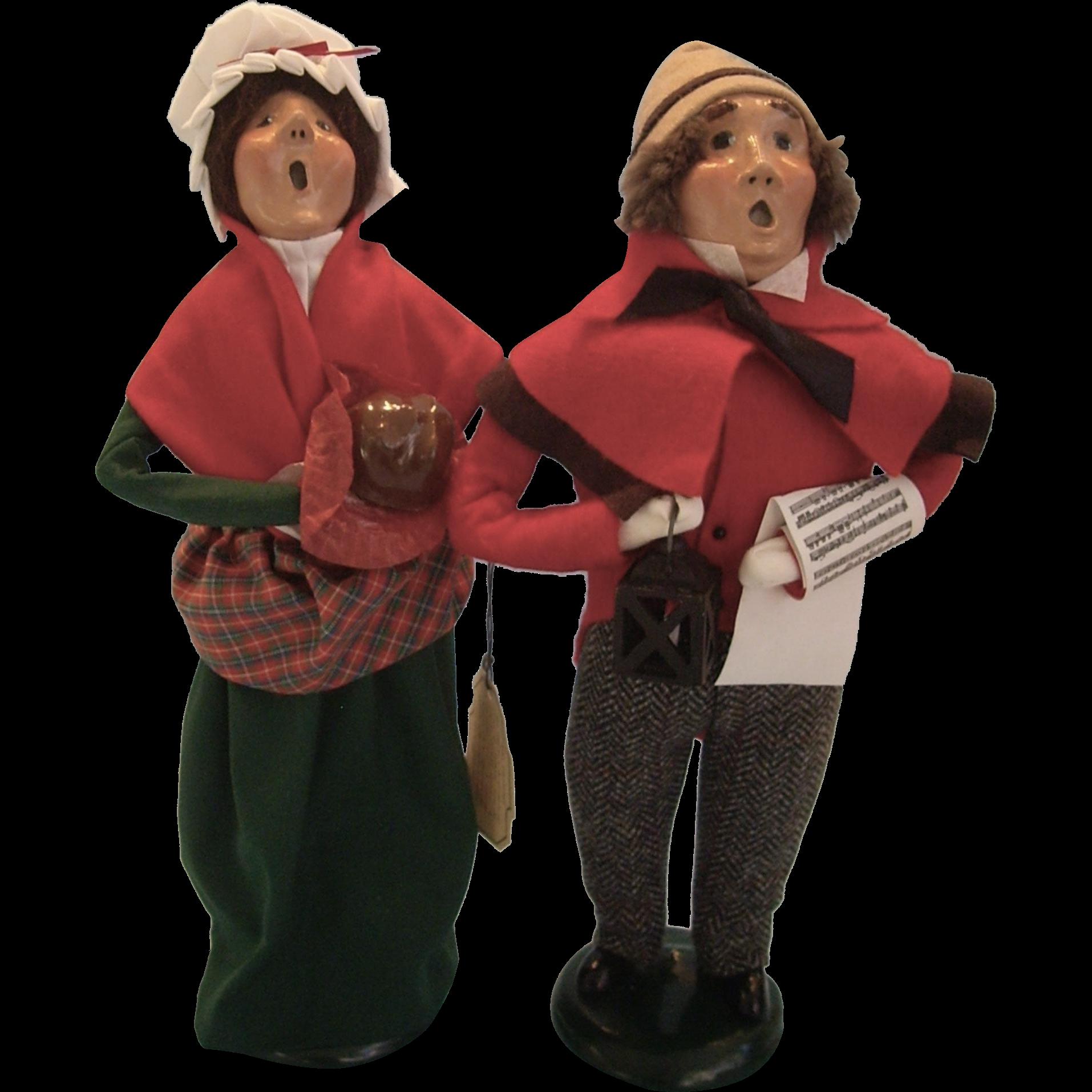 Buyers' Caroler Dolls for Christmas