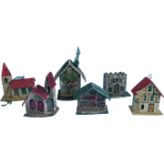Six Small Houses for Feather trees or Dolly