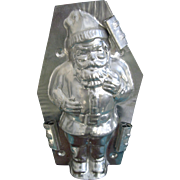 7.5 Inch Tin Santa Chocolate Mold