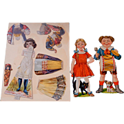 Advertising Paper Doll  and Scrap