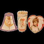 Three  Antique Valentines
