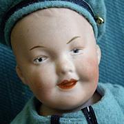 12'' Gebruder Heubach Smiling Character Boy