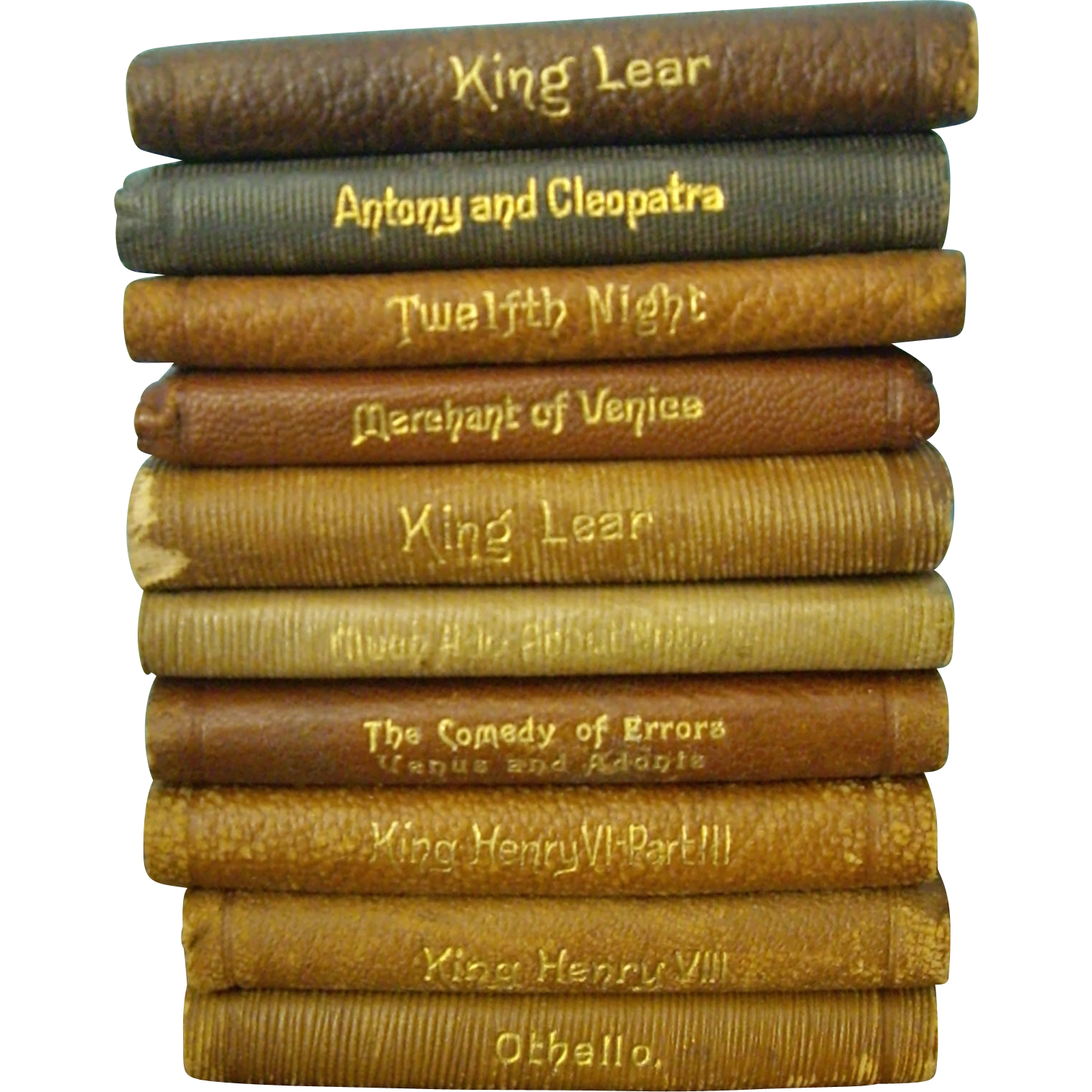 10 Miniature Shakespeare Books Sold Ruby Lane