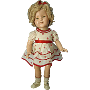 All Original 17'' Ideal Shirley Temple