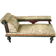 Miniature Victorian Fainting Couch