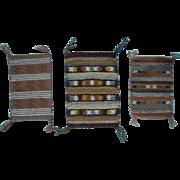 Miniature Apache Hand Woven Rugs