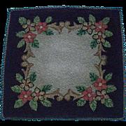 Miniature Silk Floss Rug