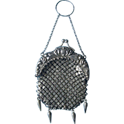 Sterling Chatelaine Purse for Fashion or Lady