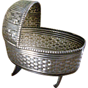 Miniature Sterling Cradle