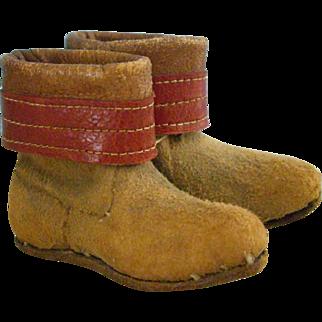 2.5 Inch Suede Boots Salesman Sample