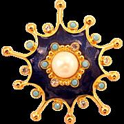 "Jose Maria Barrera For Avon ""Roman Holiday"" Collection Pin / Pendant"