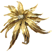 Vintage Boucher Flower Pin 8149P