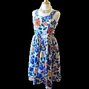 Sarin New York Bright Flower Sun Dress
