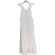 Vintage Luxite By Holeproof White Nightgown