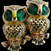 Vintage Coro Owl Duette