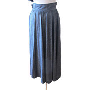 Vintage Dior Separates Swingy Gray Skirt
