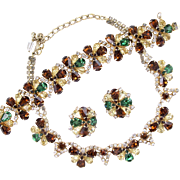 Vintage Hobe Special Occasion Fall Colors Parure