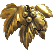 Joseff of Triple Elm Leaf Pin