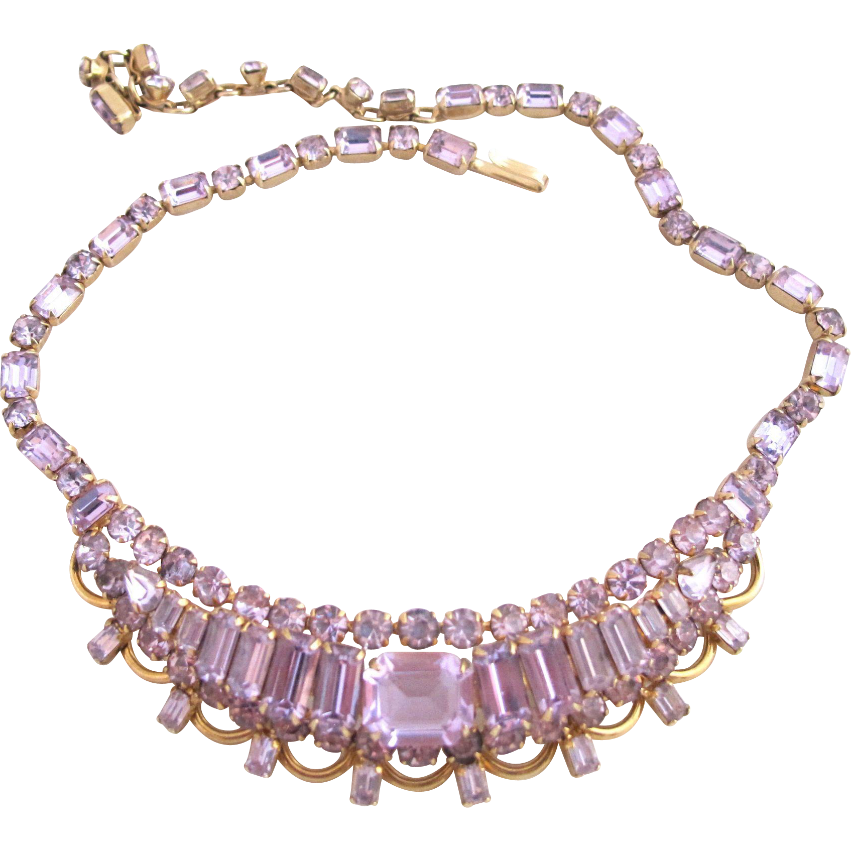 created gold with tw diamonds alexandrite in necklace white