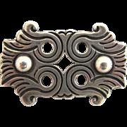 Vintage 980 Silver Taxco Rafael Dominguez Brooch