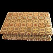 Rare Vintage Nishijin Textile Musical Jewelry Box