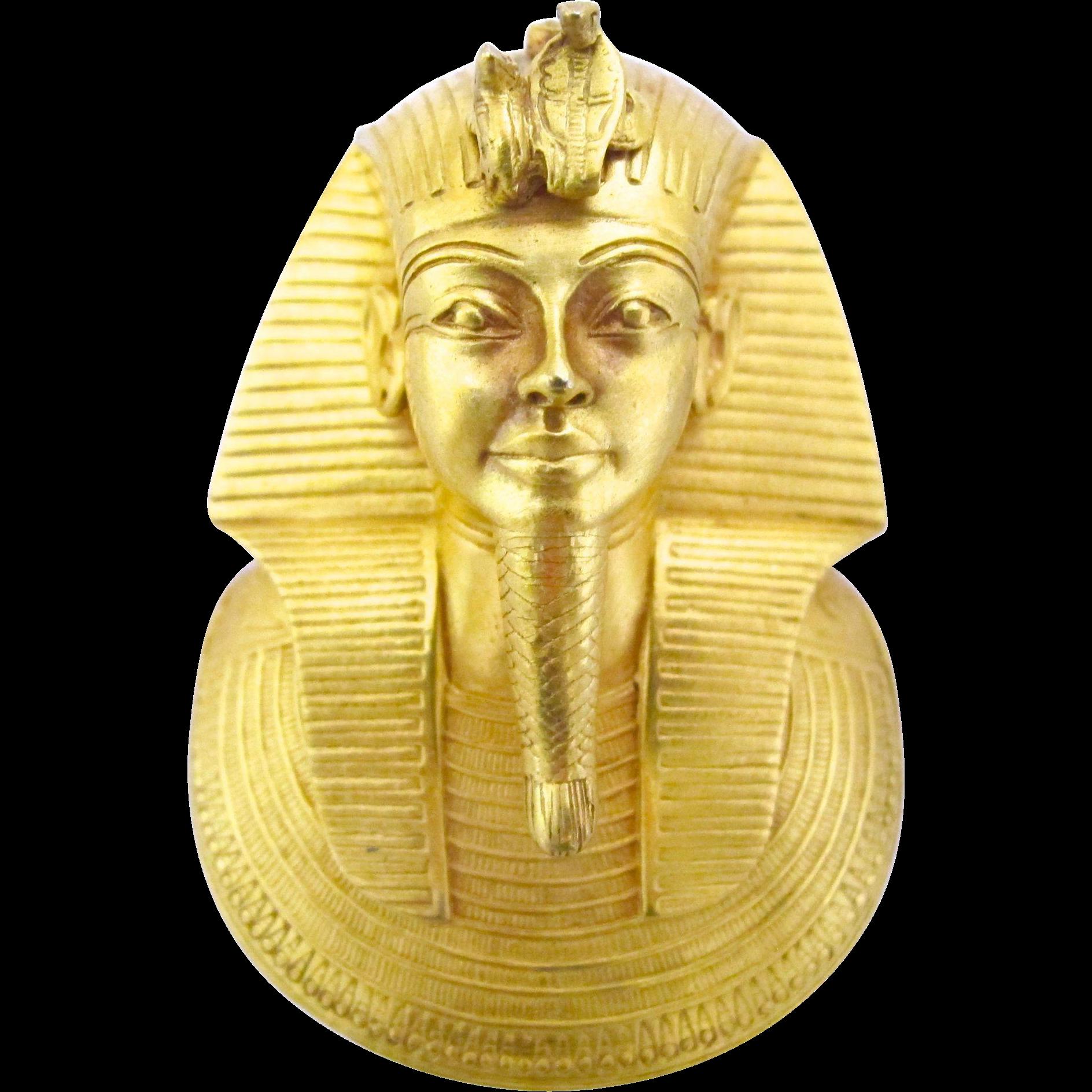 mma 1976 king tut death mask pendant from 2heartsjewelry