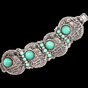 Napier Geisha Fan Bracelet