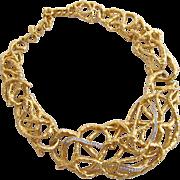 Vintage Elizabeth Taylor for Avon Treasured Vine Necklace  - Book Piece