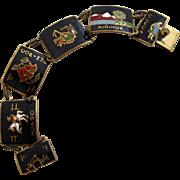 Vintage Chile Souvenir Bracelet