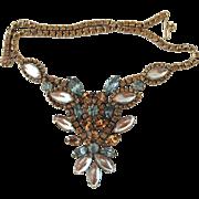 Vintage Weiss Saphiret Necklace