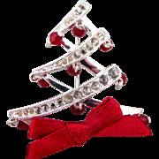 Napier Christmas Tree Pin - Book Piece