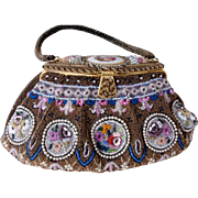Gorgeous French Beaded Purse
