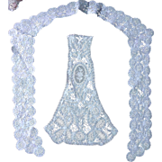 Princess Brussels Lace Collar  & Dress Insert