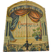 Rare 1891 McLoughlin Theater Pantomime CINDERELLA Children's Toy Book