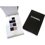 CHANEL 2002 Couture Fashion Fabric Sample Book