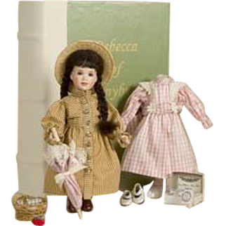 Rare Wendy Lawton LIBRARY Collection #4/175 Rebecca of Sunnybrook Farm DOLL 2004 ~Sold Out~
