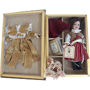Rare Wendy Lawton LIBRARY Collection #31/75 Heidi DOLL 2007 ~Sold Out~