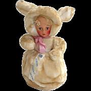 Vintage PAJAMA Doll Rabbit Holder Hug-Able Toys with TAGS