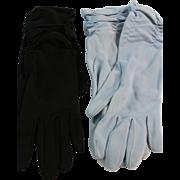 6 Pairs of Nylon Vintage Gloves